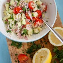 Couscous salade | insimoneskitchen.com