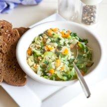 Vegetable soup | insimoneskitchen.com