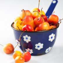 Rainier cherries | insimoneskitchen.com