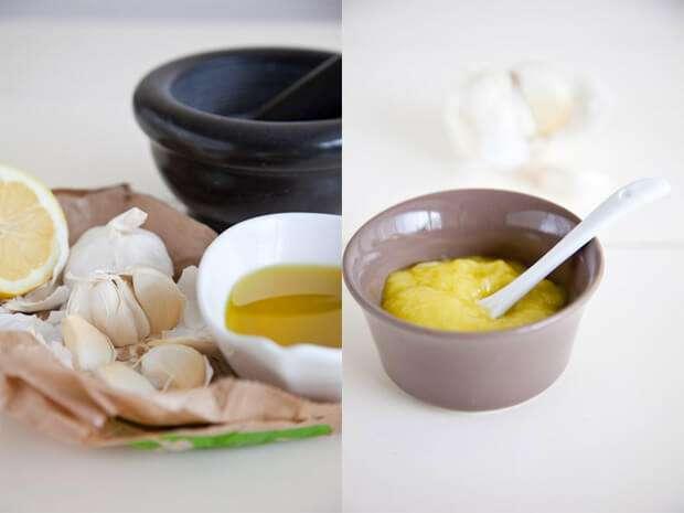 Making aioli from scratch | insimoneskitchen.com