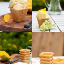 Mango icecream | insimoneskitchen.com