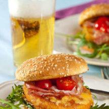 Chicken burger | insimoneskitchen.com