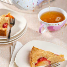 Plum brioche cake | insimoneskitchen.com