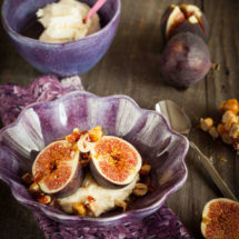 Figs with honey rose mascarpone | insimoneskitchen.com