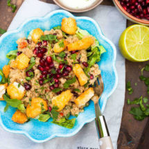 Amarant salad | insimoneskitchen.com