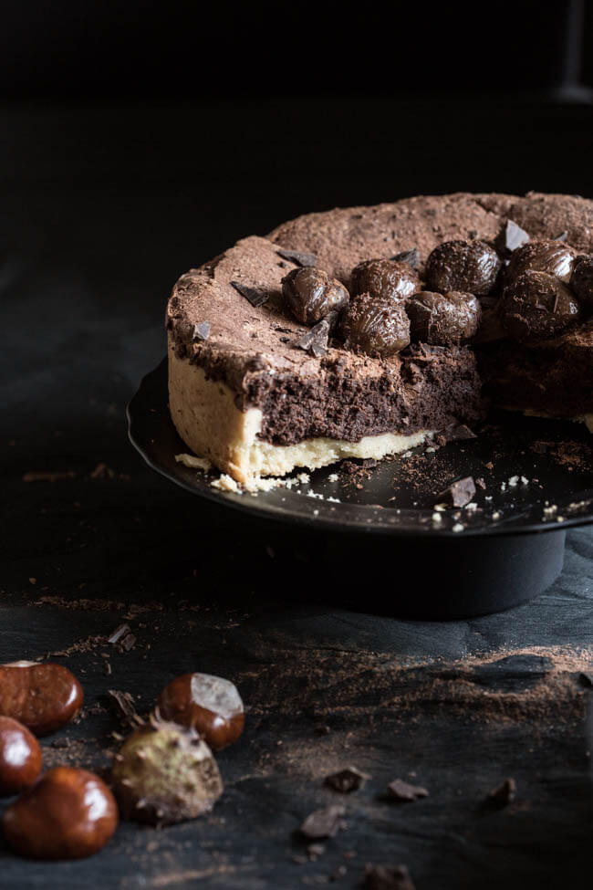 Chocolate cake and shooting dark | insimoneskitchen.com