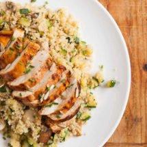 harissa kip met quinoa