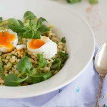 Pearl Barley with asparagus | insimoneskitchen.com
