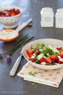 Strawberry feta salad | insimoneskitchen.com
