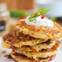 potato cakes | insimoneskitchen.com