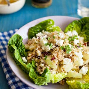 quinoa, walnut and feta salad | insimoneskitchen.com