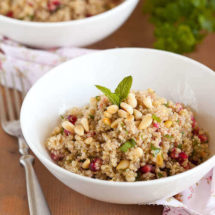 Quinoa and pomegranate salad | insimoneskitchen.com
