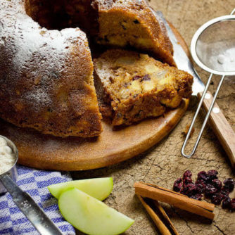 Spiced apple nut bundt cake | insimoneskitchen.com
