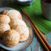 Asian small pancakes | insimoneskitchen.com
