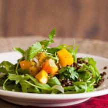 Geroosterde pompoen salade | insimonesk.wpengine.com