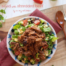 Brisket salad | insimoneskitchen.com