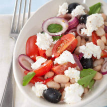 Ricotta and white bean salad | insimoneskitchen.com