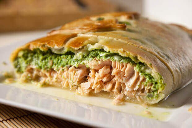 Good Food Salmon En Croute