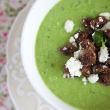 Pea soup | insimoneskitchen.com