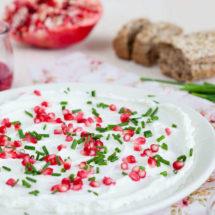 Romige geitenkaas met granaatappel | insimonesk.wpengine.com