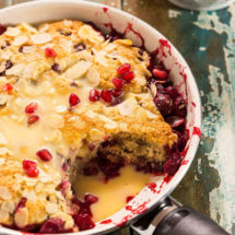 Cranberry pomegranate pie | insimoneskitchen.com