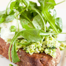 Crostini with a puree of beans by Jamie Oliver | insimoneskitchen.com