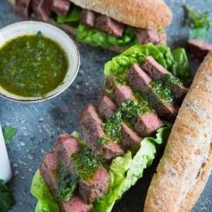 Steak sandwich | insimoneskitchen.com