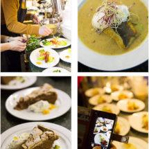 Mustardsoup with seabass | insimoneskitchen.com