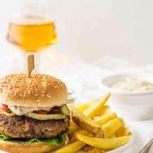 Dudefood tuesday Hamburger with chorizo | insimoneskitchencom