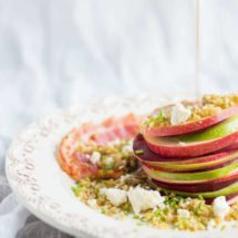 Beetroot, apple and freekeh salad | insimoneskitchen.com