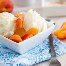 Coconut icecream with roasted coconut | insimoneskitchen.com