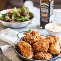 Golden fried crisp chicken | insimoneskitchen.com