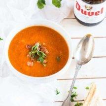 Tomato soup with a devilish twist | insimoneskitchen.com
