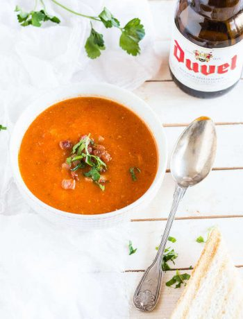 Tomato soup with a devilish twist | insimoneskitchen.com