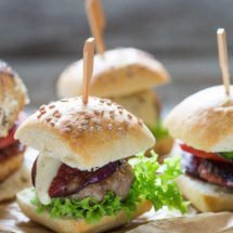 Delicious trio of sliders | insimoneskitchen.com