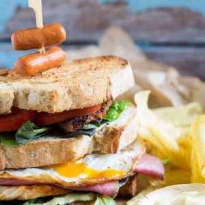 The ultimate dude clubsandwich | insimoneskitchen.com