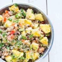 Quinoa salad with mango | insimoneskitchen.com