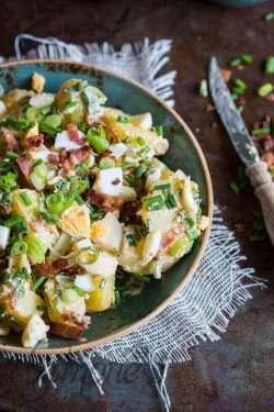 Delicious potato salade a la Matt Preston | insimoneskitchen.com