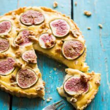 Custard fig tart | insimoneskitchen.com
