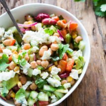 Mixed bean salad with roquefort | insimonesk.wpengine.com
