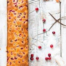 Cranberry cake | insimoneskitchen.com