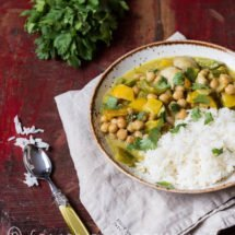 Green dude curry | insimoneskitchen.com