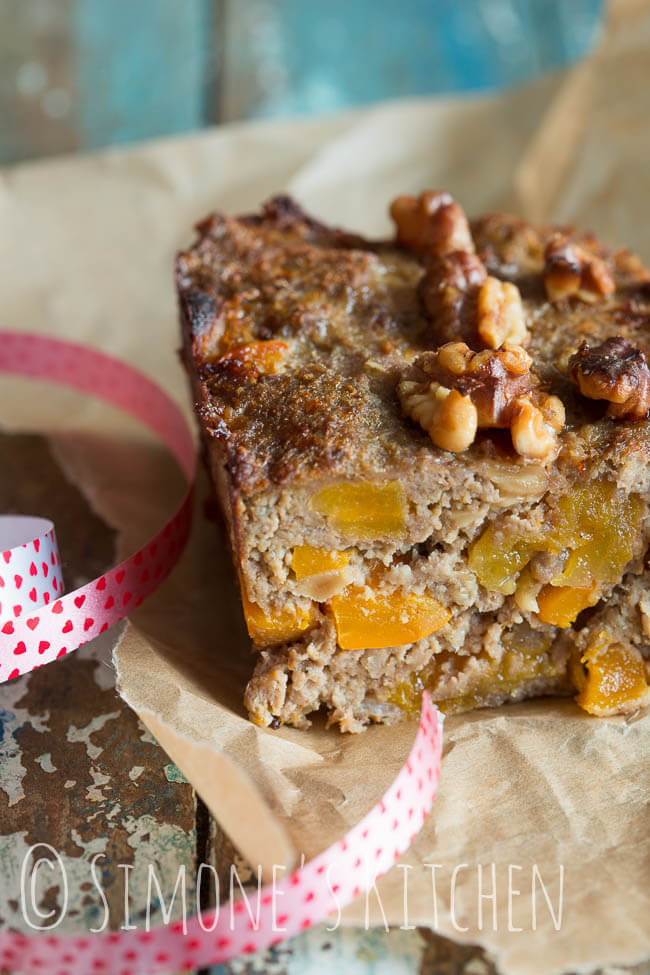 Meatloaf with walnuts and apricots | insimoneskitchen.com