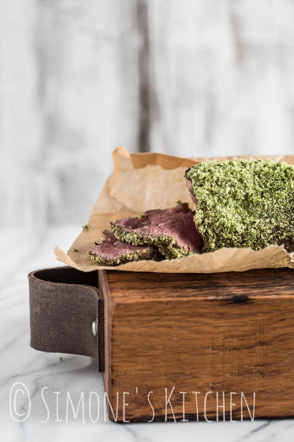 Roast beef with herb crust | insimoneskitchen.com
