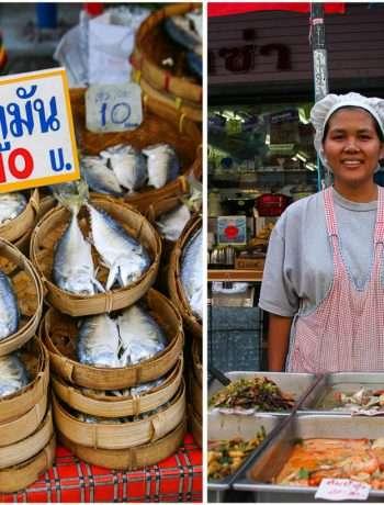 Local market in Chiang Mai | insimoneskitchen.com