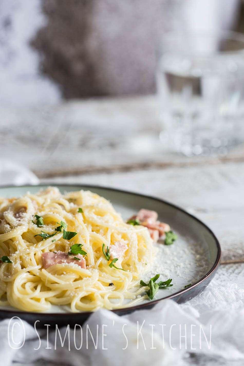 Pasta carbonara | insimoneskitchen.com