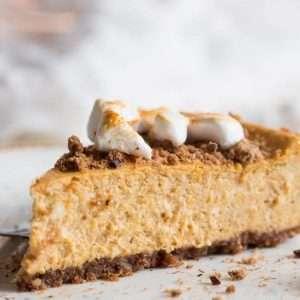 Pumpkin cheesecake | insimoneskitchen.com