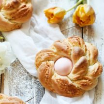 Easter savory bread with cheese and egg | insimoneskitchen.com