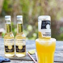 Beer cocktail with corona | insimoneskitchen.com