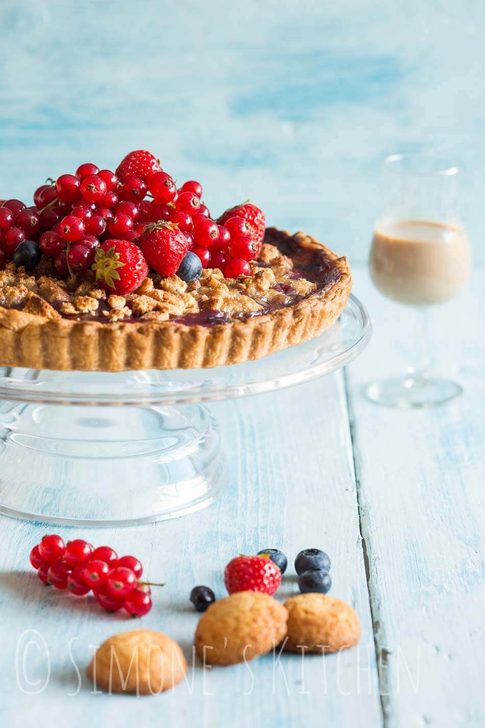 Pie with fresh fruits | insimoneskitchen.com